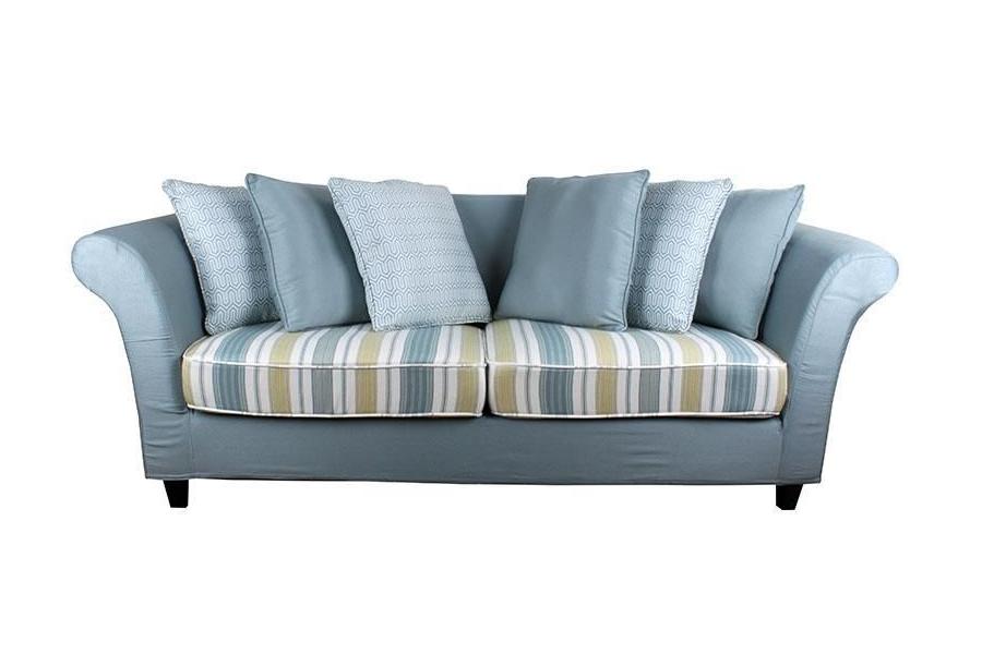 Canapea bleu cu 3 locuri Seattle