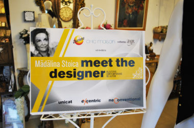 Eveniment Meet the Designer - Madalina Stoica