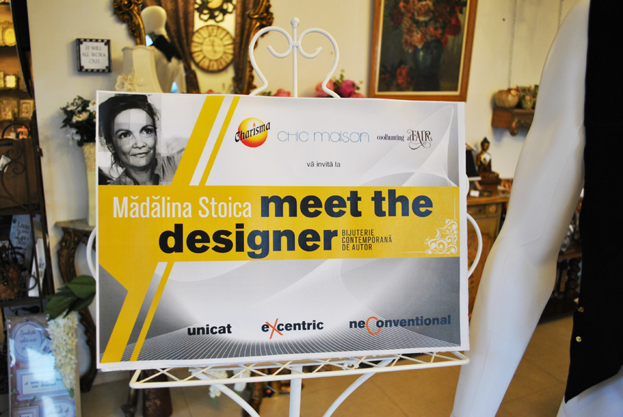 Eveniment Meet the Designer - Madalina Stoica