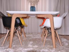 Masuta Stockholm living modern de la Chic Maison